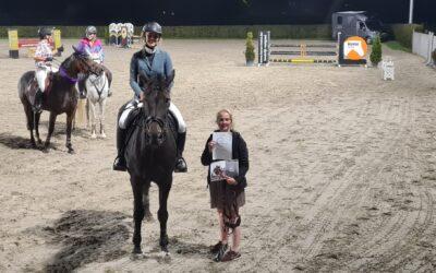 Caro van der Smissen sleept haar 2de privéles in de wacht op de Silver League te Mivaro